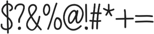 WoodLark otf (400) Font OTHER CHARS