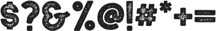 Woodblock-Slab Aged otf (400) Font OTHER CHARS