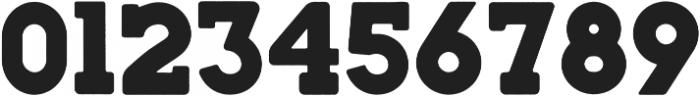 Woodblock-Slab otf (400) Font OTHER CHARS