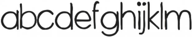 WoodenCabin ttf (400) Font LOWERCASE