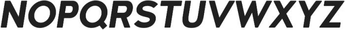 Woodford Bourne Bold Italic otf (700) Font UPPERCASE