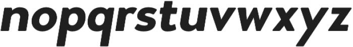 Woodford Bourne Bold Italic otf (700) Font LOWERCASE