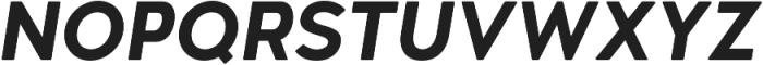 Woodford Bourne PRO Bold Italic otf (700) Font UPPERCASE