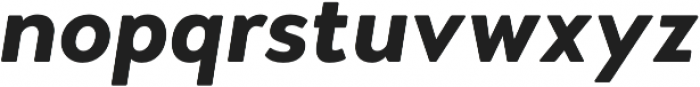 Woodford Bourne PRO Bold Italic otf (700) Font LOWERCASE