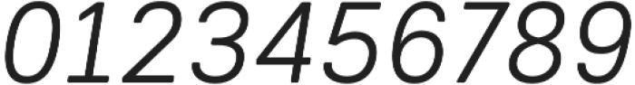 Woodford Bourne PRO Light Italic otf (300) Font OTHER CHARS