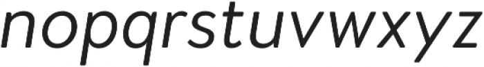 Woodford Bourne PRO Light Italic otf (300) Font LOWERCASE