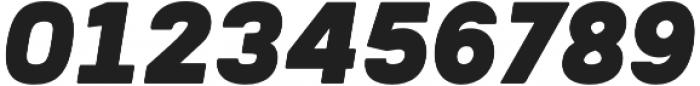 Woodford Bourne PRO Ultra Italic otf (900) Font OTHER CHARS