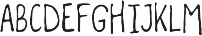 Woodnote Light otf (300) Font UPPERCASE