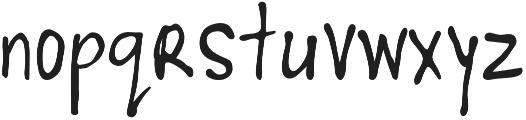 Woodnote Light otf (300) Font LOWERCASE