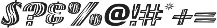Woods Italic ttf (400) Font OTHER CHARS