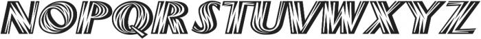 Woods Italic ttf (400) Font UPPERCASE
