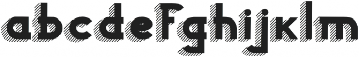 Woodward black striped 3d otf (900) Font LOWERCASE