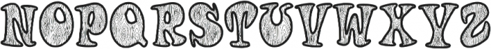 Woodys otf (400) Font UPPERCASE