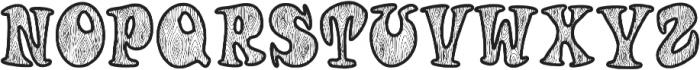Woodys otf (400) Font LOWERCASE