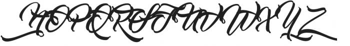 Work In Progress Alternates otf (400) Font UPPERCASE