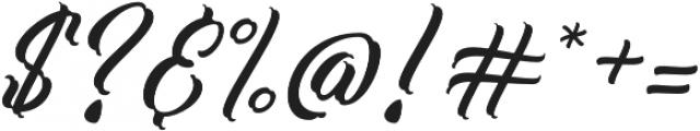 Work In Progress Regular otf (400) Font OTHER CHARS