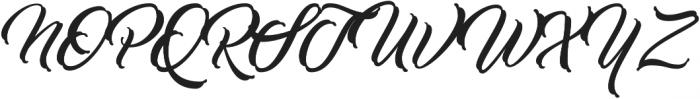 Work In Progress Regular otf (400) Font UPPERCASE
