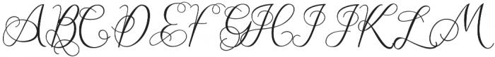 Workaholic otf (400) Font UPPERCASE