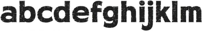 Workhorse Rough otf (400) Font LOWERCASE