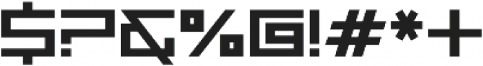 Wormbox Sharp ttf (400) Font OTHER CHARS