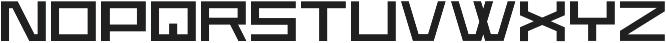Wormbox Sharp ttf (400) Font UPPERCASE