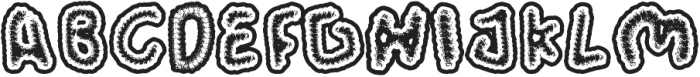 Wormspy otf (400) Font UPPERCASE