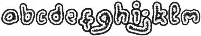 Wormspy otf (400) Font LOWERCASE