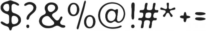 Worn Gothic Regular otf (400) Font OTHER CHARS