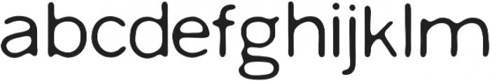 Worn Gothic Regular otf (400) Font LOWERCASE