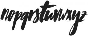 Worthwhile Alternates otf (400) Font LOWERCASE
