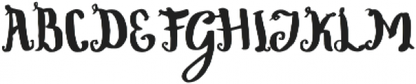 Wowangle Brush otf (400) Font UPPERCASE
