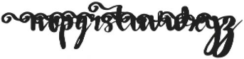 Wowangle SS04 otf (400) Font LOWERCASE