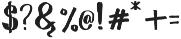 Wowangle SS05 otf (400) Font OTHER CHARS