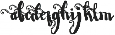 Wowangle SS05 otf (400) Font LOWERCASE