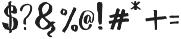 Wowangle SS06 otf (400) Font OTHER CHARS