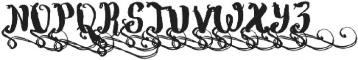 Wowangle Swash Uppercase otf (400) Font UPPERCASE