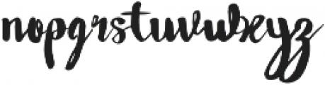 Wowangle Swash Uppercase otf (400) Font LOWERCASE