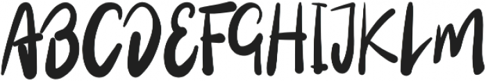 Wowi Typeface Regular otf (400) Font UPPERCASE