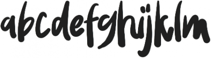 Wowi Typeface Regular otf (400) Font LOWERCASE