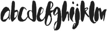 wonderlicious otf (400) Font LOWERCASE