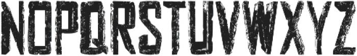 woody otf (400) Font LOWERCASE