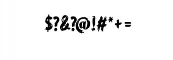 WORKSHOP Brush font Font OTHER CHARS