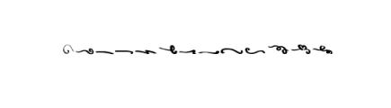 Wowangle Brush Script Font Font LOWERCASE
