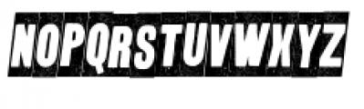 Wood Type Collection Buka Italic Font UPPERCASE