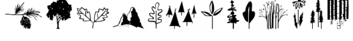 Woodland Doodles Font LOWERCASE
