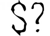 WOODBURN FONT 1 Font OTHER CHARS