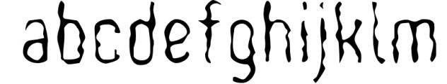 WOODBURN FONT 1 Font LOWERCASE