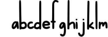Wonderful Willow - Tall and Modern Handwritten Font Font LOWERCASE