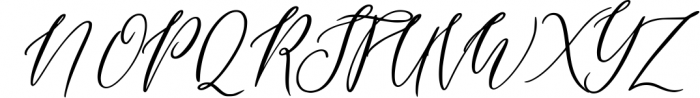 Wonderlust Calligraphy Modern Font UPPERCASE