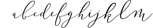 Wonderlust Calligraphy Modern Font LOWERCASE